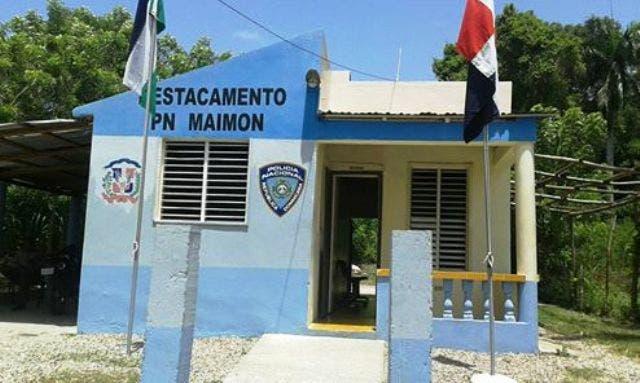 DESALOJARAN DESTACAMENTO POLICIAL DE MAIMON POR FALTA DE PAGO PORTADA