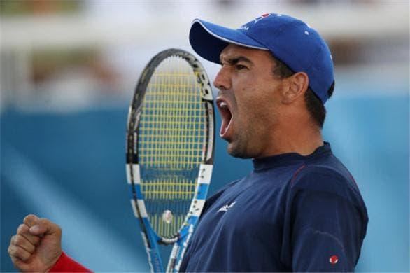 Dominicano Víctor Estrella es eliminado en primera ronda del torneo de Ginebra