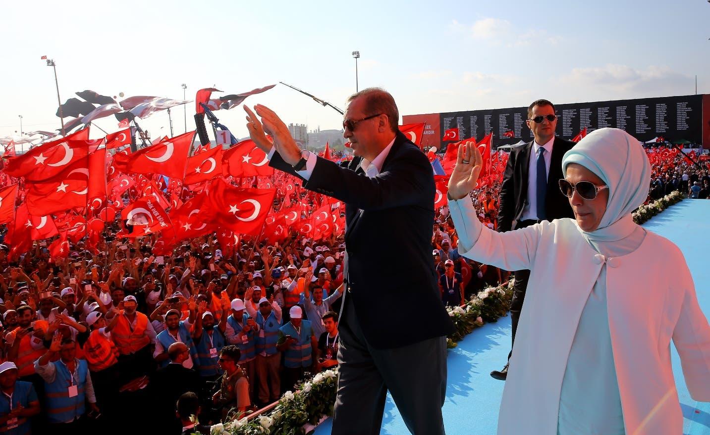 Erdogan aboga por restaurar la pena de muerte en Turquía durante mitin
