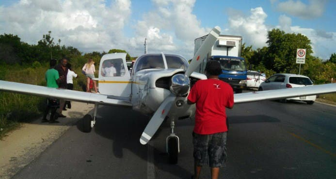 La aeronave tenía la intención de realizar un vuelo doméstico con destino al aeródromo de Arroyo Barril, en la provincia Samaná.