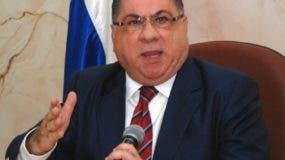 Ministro de Interior y Policías, José Ramón Fadul.