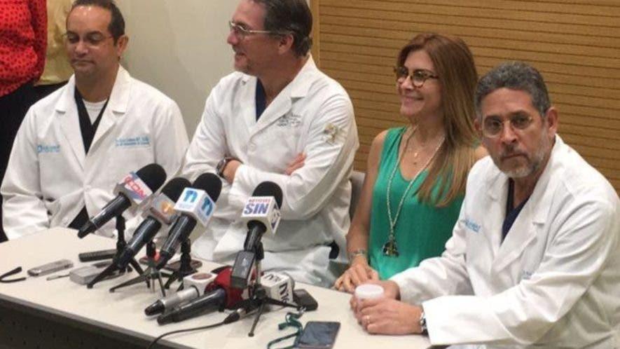 Médico explica el padecimiento que obligo a internar a Hipólito Mejía