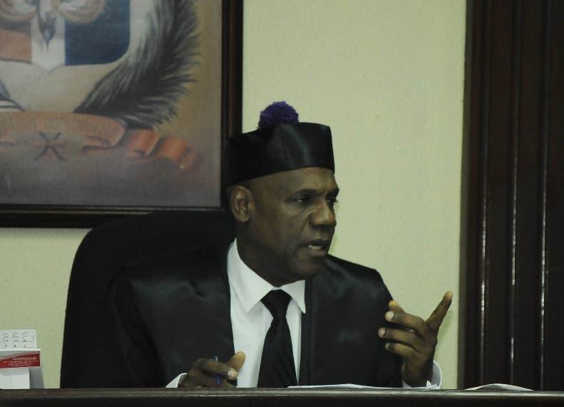 El juez de la Oficina de Atención permanente del Distrito Nacional, José Alejandro Vargas. Foto de archivo.