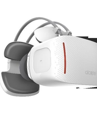 Realidad virtual en dispositivos Alcatel