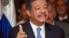 Leonel Fernández es presidente del Partido de la Liberación Dominicana.