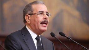 El PRM  tiene pocas expectativas ante el discurso del presidente Medina .  ARCHIVO