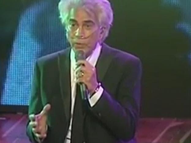 José Luis Rodríguez 'El Puma' cantó en concierto conectado a bomba de oxígeno
