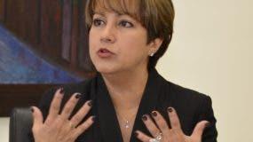 Kirsis Jáquez, presidenta de Fondo de pensiones.