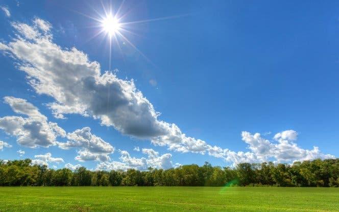 Meteorología prevé pocas lluvias durante el fin de semana