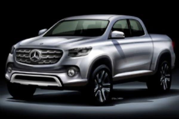 Mercedes Benz lanza su pickup