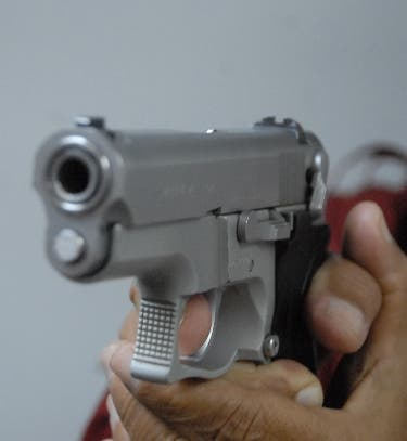 Pistola, arma de fuego