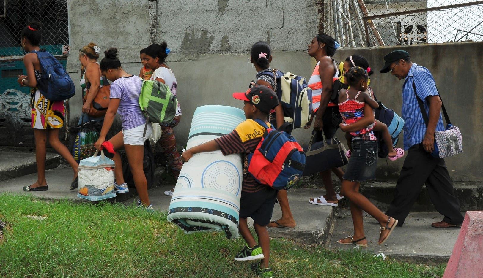 Tormenta de categoría cuatro en su paso por Haití — El huracán Matthew