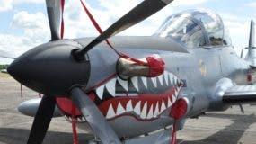 El País/En la Foto Gráfica de los Aviones Súper Tucanos En la Base Aérea de San Isidro./29-10-2010/Hoy/Pablo Matos