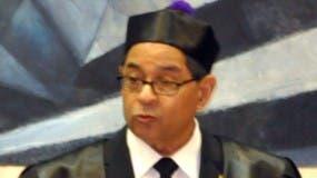 Presidente del Consejo del Poder Judicial Mariano Germán Mejía.