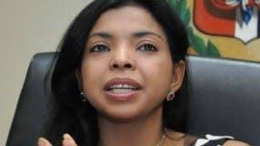 Yeni Berenice Reynoso Gómez como fiscal del Distrito Nacional, durante una entrevista en  Palacio De Justicia En Ciudad Nueva Santo Domingo República Dominicana. 27 de diciembre de 2013. Foto Pedro Sosa