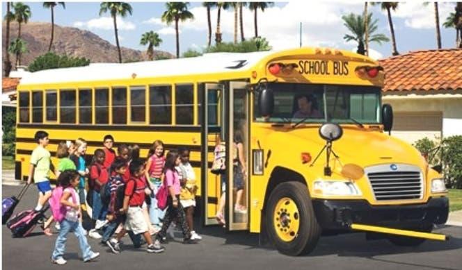 Dominicanos que conducen autobuses escolares en NY se sumarían a huelga