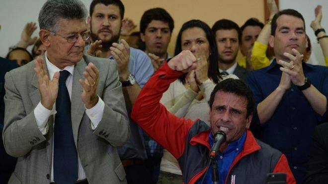 «Se dio un golpe de Estado»: la oposición llama a la «Toma de Venezuela» tras la suspensión revocatorio