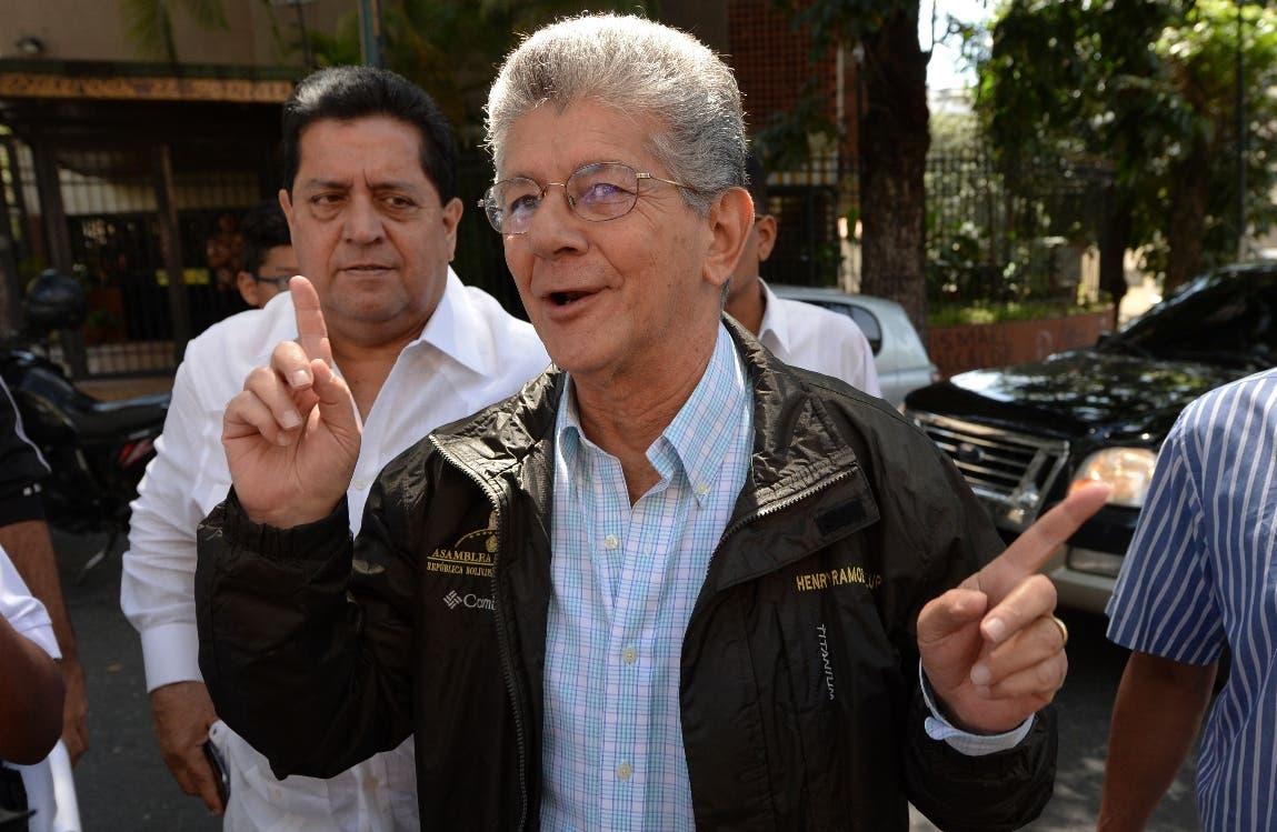 Henry Ramos Allup,  de Acción Democrática. Foto de archivo