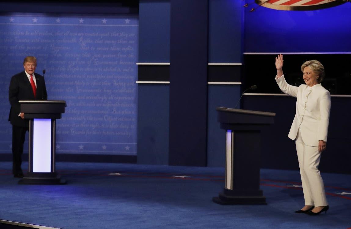 Empieza el debate final entre Hillary Clinton y Donald Trump en Las Vegas
