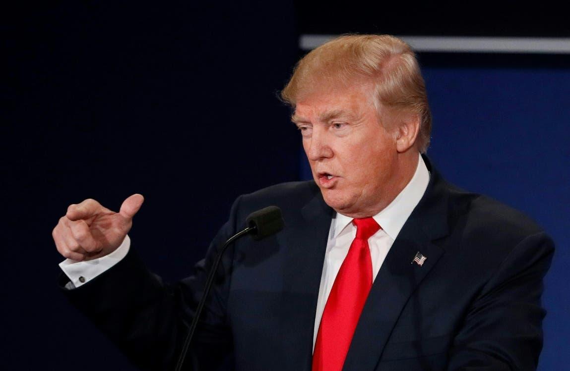 Donald Trump dice que aceptaría un resultado electoral claro