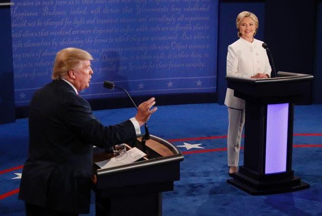 Hillary Clinton gana con el menor margen de los tres debates, según CNN