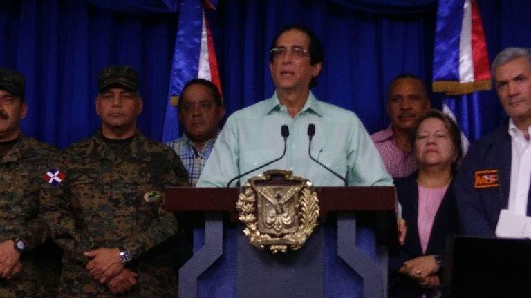 Suspenden docencia en las 24 provincias en alerta roja y amarilla; evacuarán personas