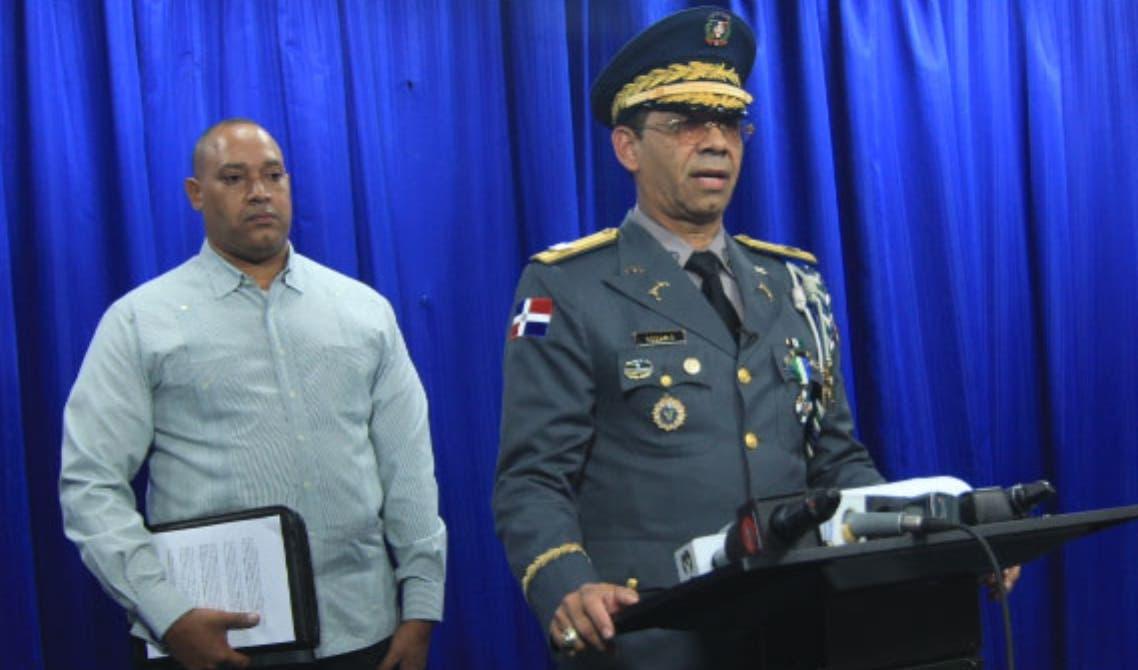El general Nelson Rosario explicó los pormenores del caso.  Foto de archivo.