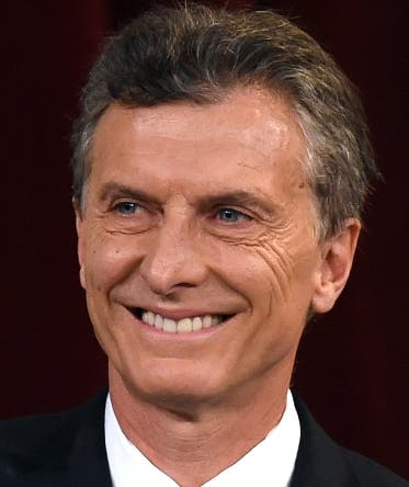 Argentine President-elect Mauricio Macri during his inauguration ceremony at the Congress in Buenos Aires on December 10, 2015. Macri's inauguration marks the start of a new era for Argentina: a tilt to the right after 12 years under Kirchner and her late husband Nestor, the left-wing power couple that led the country back to stability after an economic meltdown in 2001.  AFP PHOTO/EITAN ABRAMOVICH