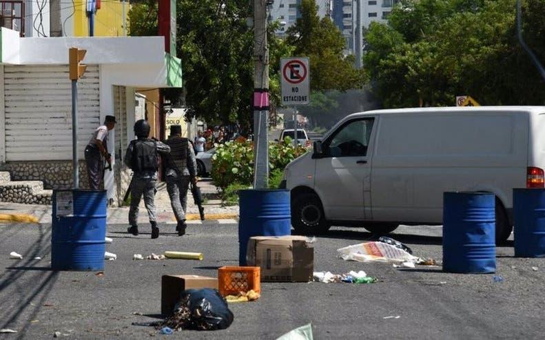 Disturbios en la UASD en demanda más presupuesto