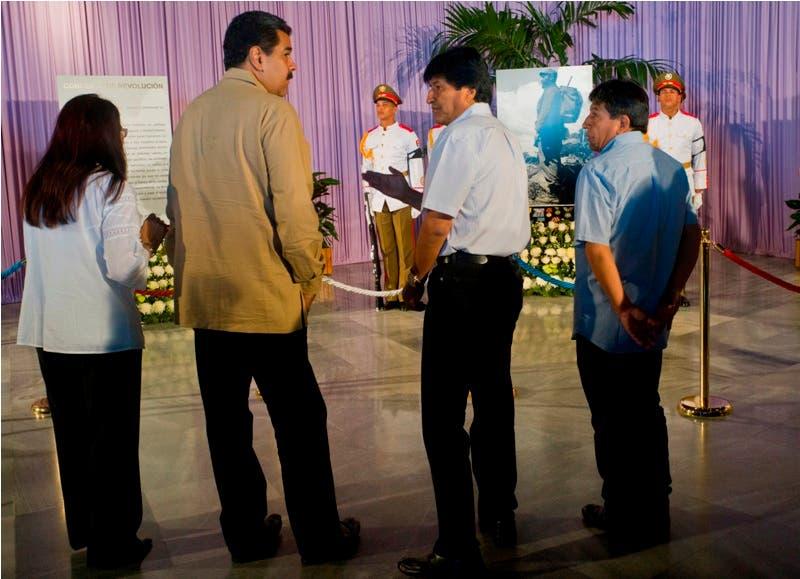 Izquierda latinoamericana rinde tributo a Fidel Castro en Cuba