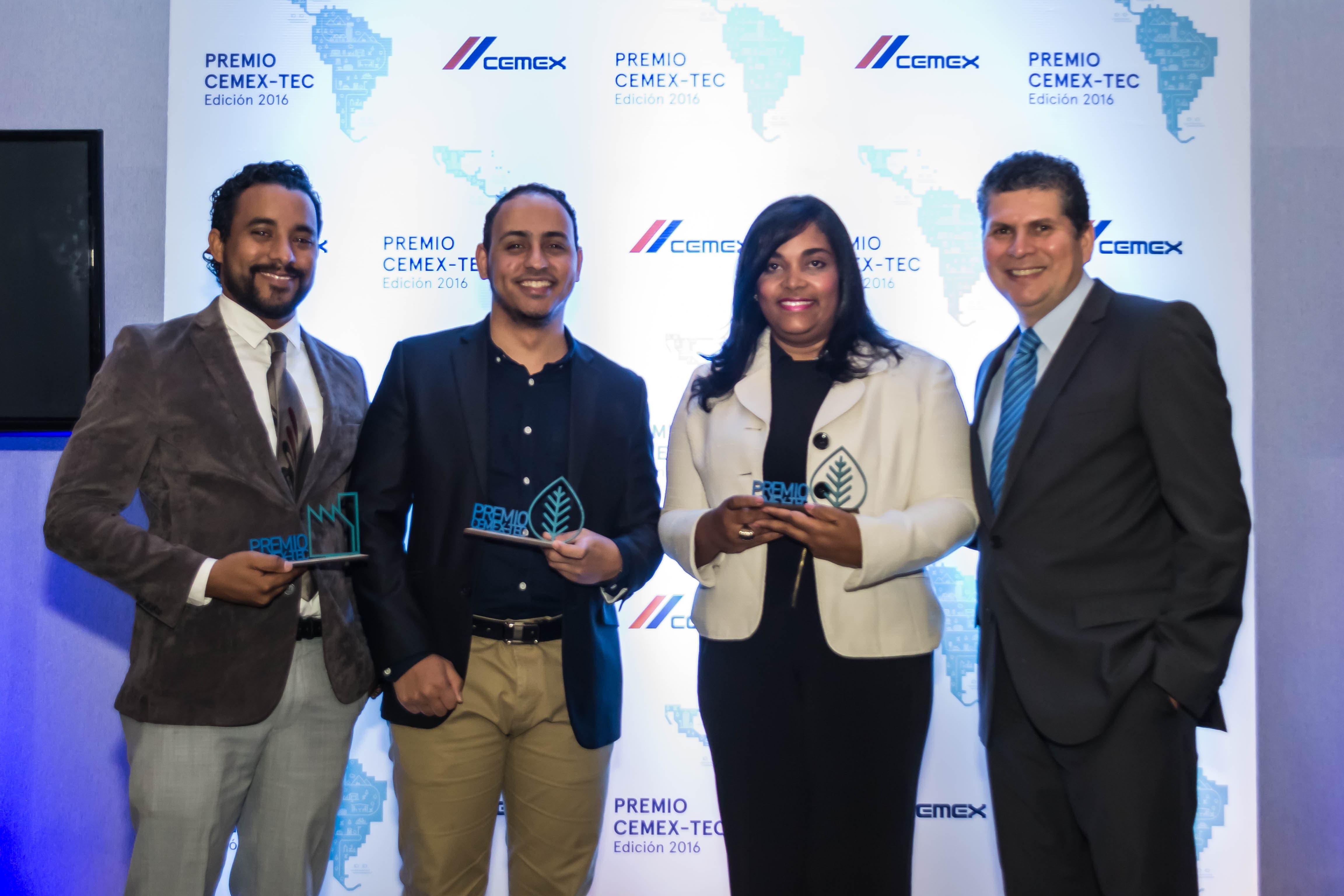 Cemex y el Tecnológico de Monterrey reconocen emprendedores dominicanos