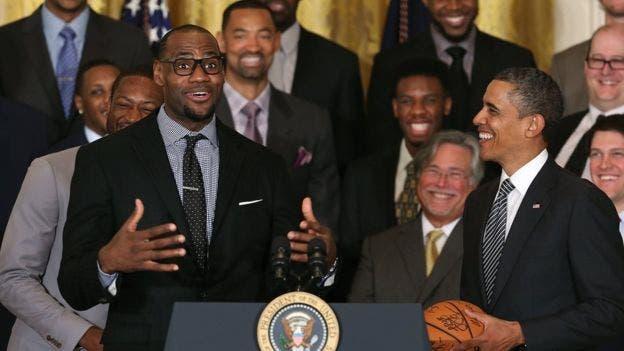NBA: LeBron James indeciso si regresará a la Casa Blanca con Trump