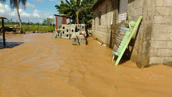 Más de 600 viviendas afectadas y varias comunidades incomunicadas en Espaillat