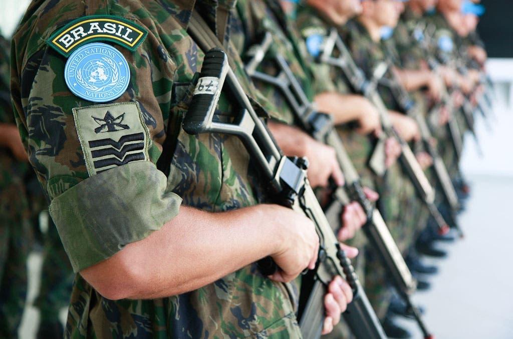 Brasil embarca el último de sus contingentes para fuerzas de paz en Haití
