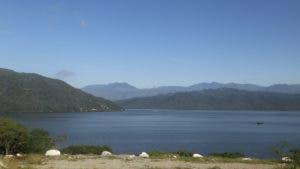 La presa de Sabana Yegua tiene capacidad de almacenamiento de 415 millones de metros cúbicos.