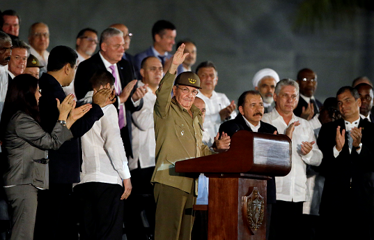Líderes extranjeros se unen a homenaje cubano a Fidel Castro