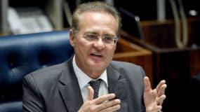 Presidente del Senado, Renán Calheiros.