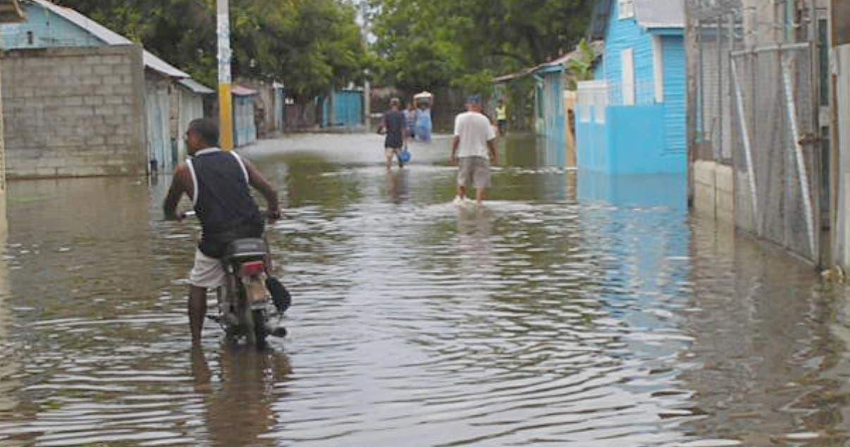 Provincias. El Peñón inundaciones. Hoy/ FE