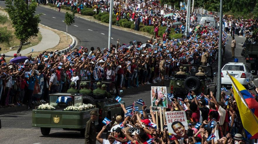 Fidel Castro vuelve a la cuna de la revolución para su último adiós