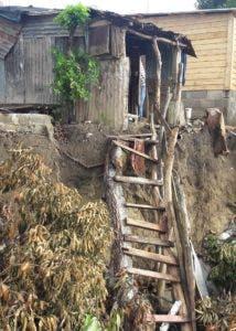 Las inundaciones sacaron a relucir miseria ancestral en la zona.