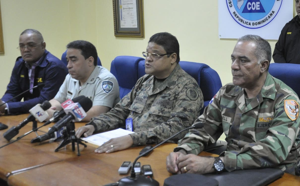 El director del COE, general Juan Manuel Méndez. Hoy/Pablo Matos 25-12-2016