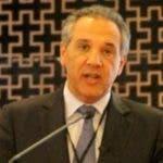 El Ministro Administrativo de la presidencia Josè Ramòn Peralta durante una participaciòn en su viaje a Vhina. Hoy/ Fuente externa 23/03/2014
