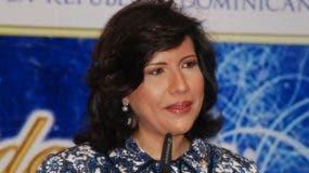 La doctora Margarita Cedeño de Fernández.