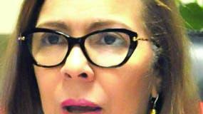 Lic. Antonia Altagracia Guaba (Iris Guaba) Directora General De Pasaportes, durante una entrevista en la Dirección General de Pasaportes Santo Domingo República Dominicana. 12 de diciembre del 2013. Foto Pedro Sosa