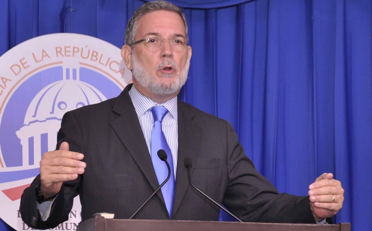 Roberto Rodríguez Marchena,   director de Prensa del Palacio Nacional.