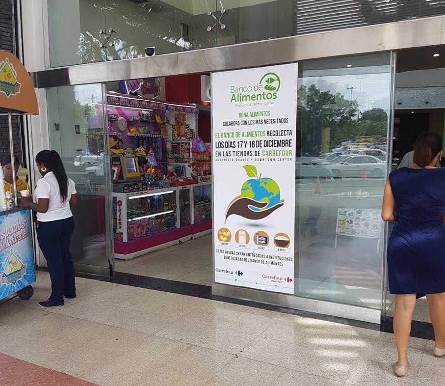 El Banco de Alimentos organiza recolecta de alimentos junto con Carrefour este fin de semana
