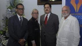 De izquierda a derecha Basilio Belliard, Bolívar Troncoso, Tony Raful y Ramón Colombo.