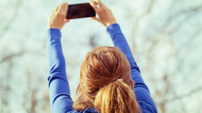 Vas a sacar una foto y....no te queda memoria en el teléfono.