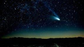 Un cometa pasará junto a la tierra durante la víspera del año nuevo.   Foto: Telemundo