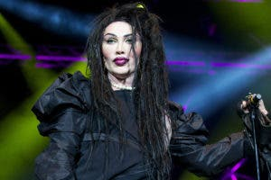 Mandatory Credit: Photo by Stephanie Paschal/REX/Shutterstock (2048059cc) Pete Burns - Dead or Alive Hit Factory Live - Christmas Cracker at the O2 Arena,  London, Britain - 21 Dec 2012
